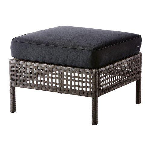 IKEA Footstool アウトドア B01HU9JDF6 10202.82626.1430 black-brown メイルオーダー 定番