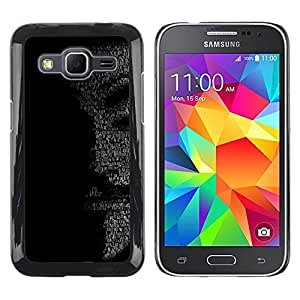 Stuss Case / Funda Carcasa protectora - MENSAJE ANÓNIMO - Samsung Galaxy Core Prime