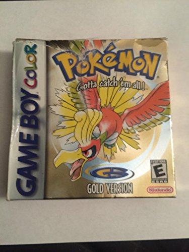 Pokemon Gold Version Game Boy Color