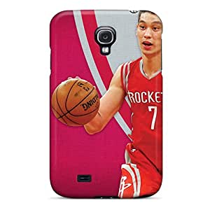 New Fashion Premium Tpu Cases Covers For Galaxy S4 - Houston Rockets