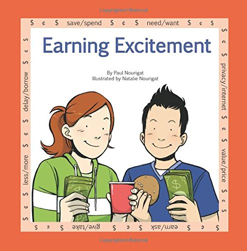 "Download Earning Excitement: A book in the series ""Marvels of Money ... for kids"" (Volume 1) pdf epub"