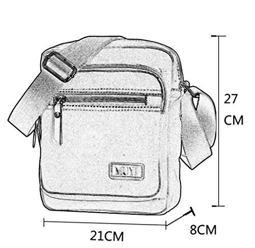 Grande Bag Uomo Retrò Capacità Borsa Borsa Sci Messenger Da Da Bici FLHT All'aperto Classico Moda Borsa Viaggio Grey Per Da Piccola EIS8wXB