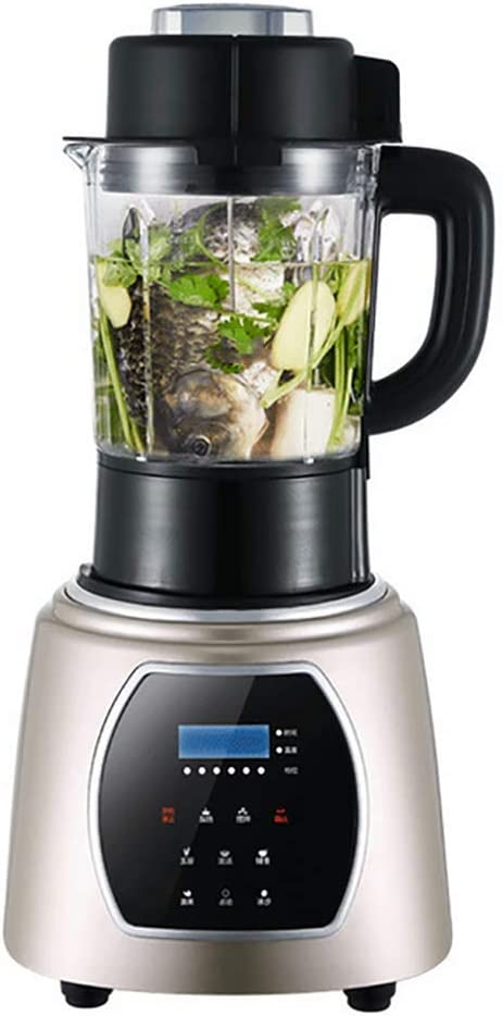 Blender, Smoothie Blender 1000W for Ice Crushing with 6-Speed (38000 r/min) and 6-Programs Setting, 63 OZ Glass Jar & 6 Titanium Alloy Blades & Stainless Steel Housing Base (1.75L),B