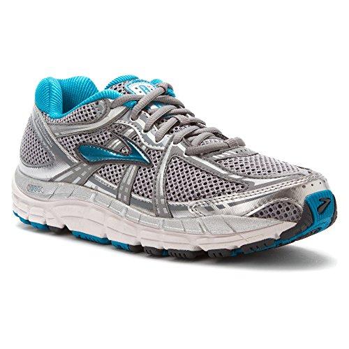 brooks addiction 11 women running sportshoes trainer grey silver - 517P7rdreiL - Brooks Addiction 11 Women Running Sportshoes Trainer grey silver