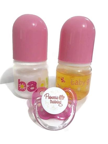 Amazon.com: 2 botellas de muñeca bebé Preemie Tamaño ...