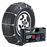 Security Chain Company SC1040 Radial Chain Cable Traction Tire Chain, Set of 2
