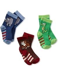 Boys' Safari Pick-A-Mix 3 Pack Socks