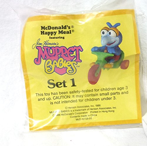 Muppet Babies Gonzo Happy Meal Toy 1986 McDonalds
