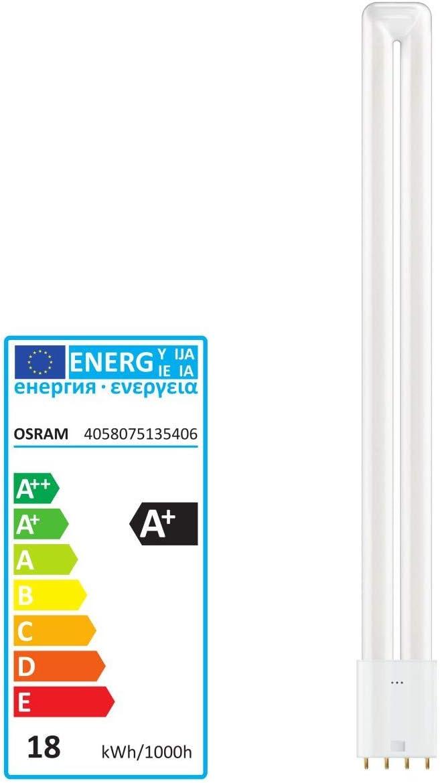 A++ - E /Ø x L 43.8mm x 413.4mm 1St. Osram LED EEK A+ 2G11 Stabform 18W = 36W Warmwei/ß