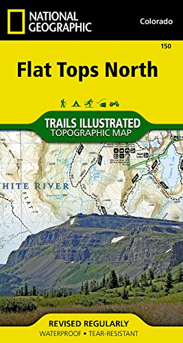 Flat Tops North (National Geographic Trails Illustrated Map)