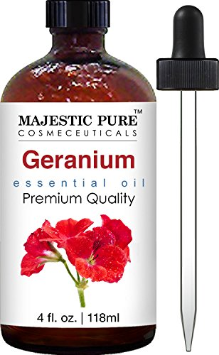 Majestic Pure Geranium Essential Oil, 4 fl. oz