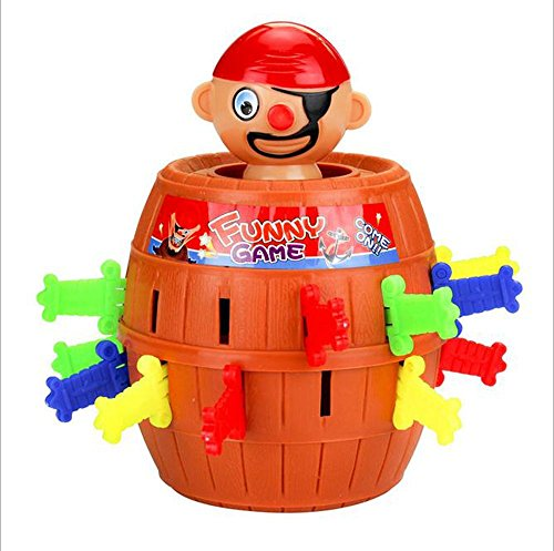 Tricky novelty spoof vent pirate barrel toys/happy party exclusive (Super Scary Stuff)