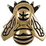 Bumblebee Door Knocker   Brass (Premium Size)