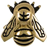 Bumblebee Door Knocker - Brass (Premium Size)