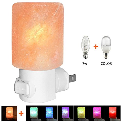 Salt Lamps In Nursery : Venhoo Mini Hand Carved Himalayan Salt Lamp Natural Crystal Salt Rock Nursery Wall Night Light ...