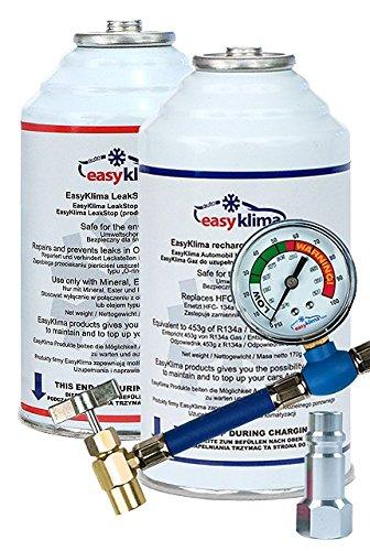 1 opinioni per EasyKlima.com- Kit base per ricarica fai da te del sistema di aria condizionata