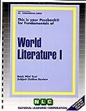 World Literature, Jack Rudman, 083737460X