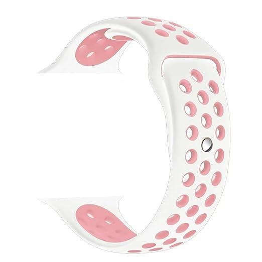 236 opinioni per ZRO Smartwatch Cinturino, Morbido Silicone Sport Cinturini di Ricambio per Apple
