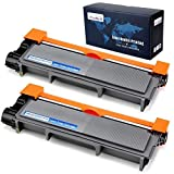 Office World Compatible Toner Cartridge Replacement for Brother TN660 TN-660 TN630 for Brother HL-L2340DW HL-L2380DW HL-L2300D DCP-L2540DW MFC-L2700DW MFC-L2740DW DCP-L2520DW (Black, 2-Pack)