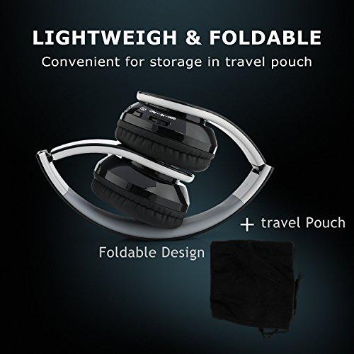 3720b9a4c83 Beyution V4.1 Bluetooth Headphones Wireless Foldable Hi-fi Stereo Headphone  for Smart Phones & Tablets - Black - KAUF.COM is exciting!