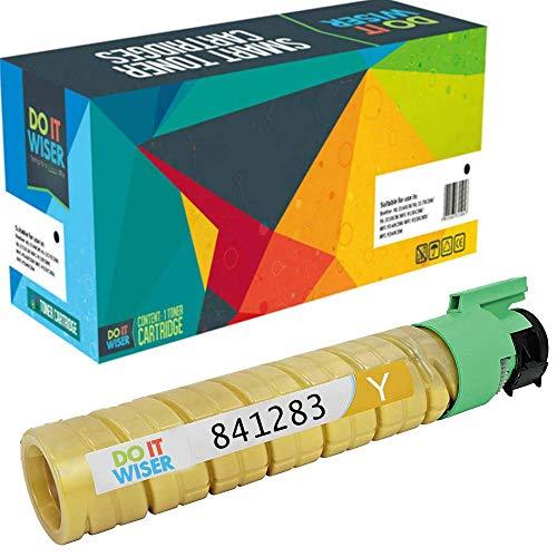 Do it Wiser Compatible Toner for Ricoh MP C2550 MP C2050 MP 2550 Lanier LD525c Savin C9020 9025 | 841283 (Yellow)