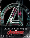 Avengers: Age Of Ultron (Steel Book) (2D VERSION) (Extended cut) + (3D VERSION) (Theatrical Version)(Blu Ray) + Lot of 6 Keychain Limited Edition