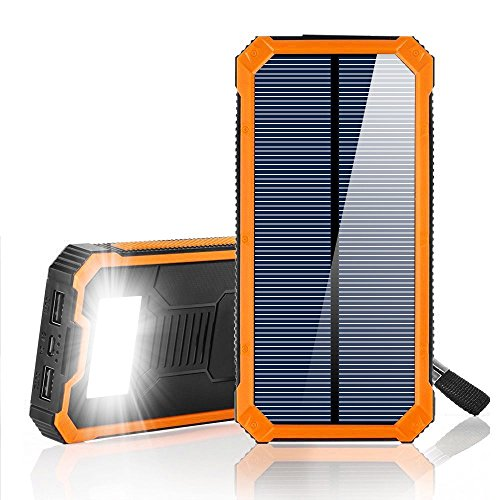 Portable Solar Cell Phone Charger - 5