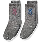 Browning Youth Everyday Wool Socks | Pink/Blue | 2-Pack