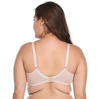 Ropa Interior Sexy Mujer Tallas Grandes ❤️Absolute Sujetador de Mujer Color sólido Push up Ropa Interior para Mujer Beauty Back Bodies Mujer Lenceria ...