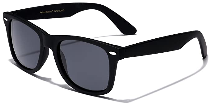 61855e062e Image Unavailable. Image not available for. Color  Retro Rewind Classic Polarized  Sunglasses