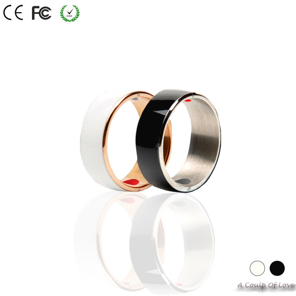 Smart Ring,COOSO R3F Newest Magic Smart Ring Universal For All Android Windows NFC Cellphone Mobile Phones.Black,Size 7(one year free warranty) GUSHU Ltd.