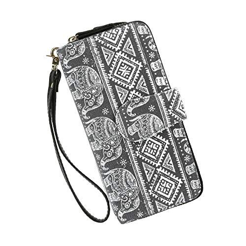 Wallets Clutch Women Bohemian - Zipper Phone Wristlet Wallet Purse With Handle from Très Chic Mailanda