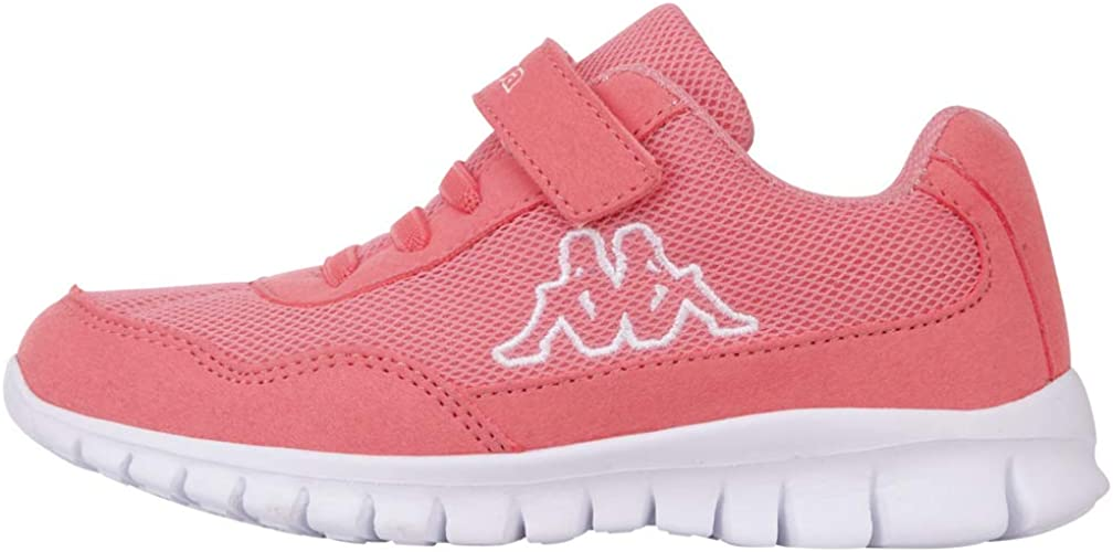 Kappa Follow Kids, Zapatillas para Niñas, Rojo Flamingo White 7210, 26 EU: Amazon.es: Zapatos y complementos