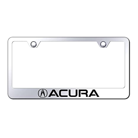 Amazoncom Acura License Plate Frame With Logo Automotive - Acura license plate