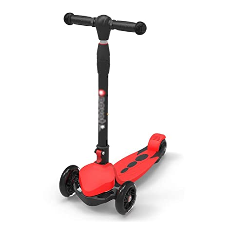 Scooter Patinete Plegable de 3 Ruedas para niños y niños ...