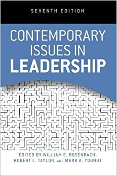 Book Contemporary Issues in Leadership by Rosenbach, William E., Taylor, Robert L., Youndt, Mark A. 7th (seventh) , Sev edition [Paperback(2012)]