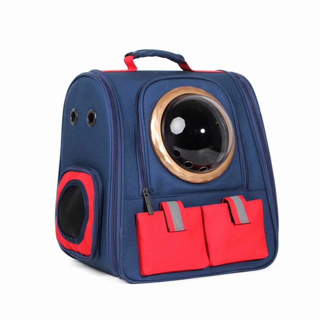 bluee K&A Large Space Pet Backpack