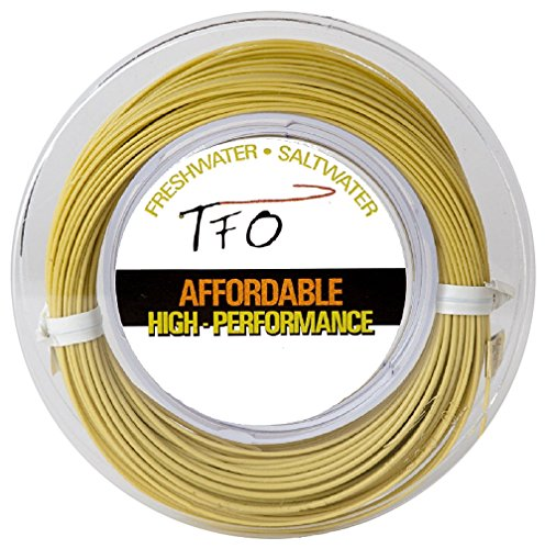 TFO Weight Forward Floating Fly Fishing Line, Light Olive...