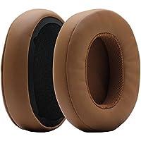 Poyatu Replacement Earpads for Skullcandy Crusher Bluetooth Wireless Over-Ear Headphones Gray/Tan Memory Foam Ear Cushions Earbuds Ear pads Repair Parts Brown