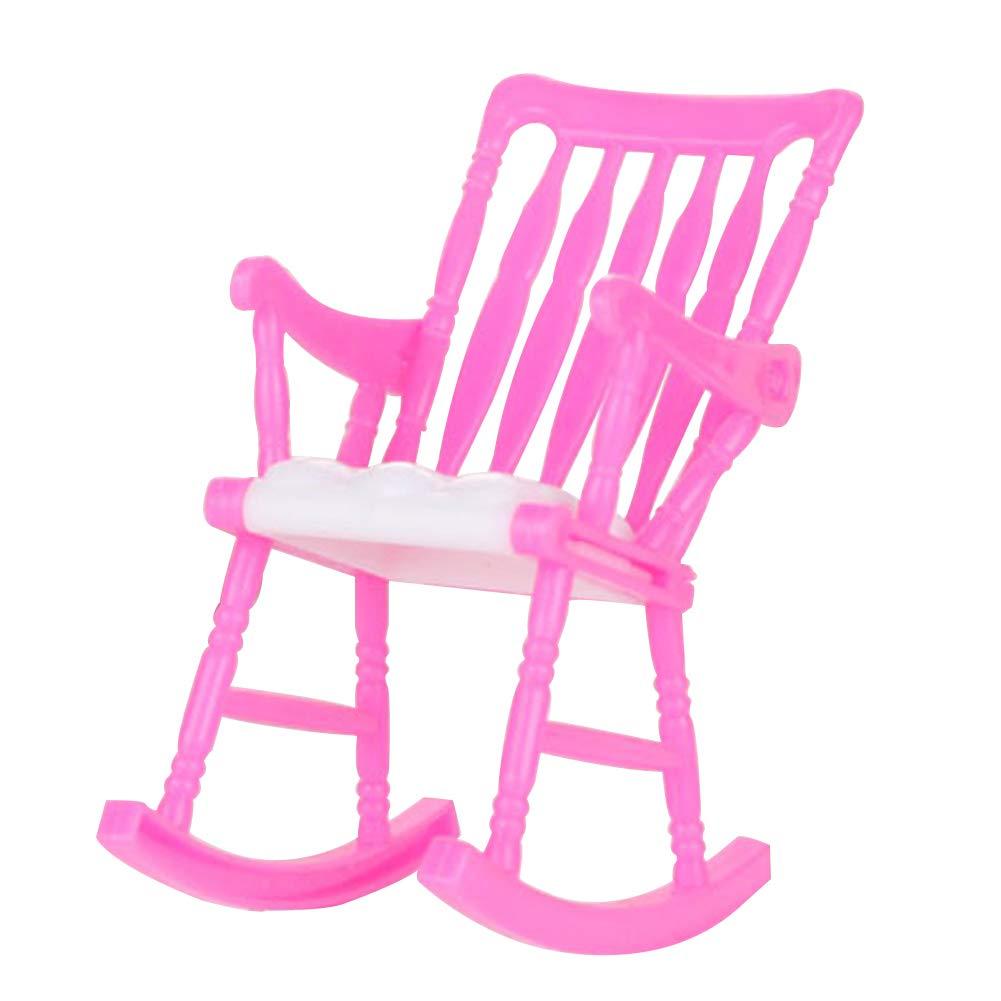 Nakw88 Juguete Silla Mu/ñeca Silla Mini Bricolaje Barbie Accesorios Silla Accesorios Casa de Mu/ñecas Decoraci/ón Habitaci/ón 14g Pl/ástico para Barbie Casa de Mu/ñecas