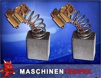 Kohleb/ürsten Motorkohlen passend f/ür Bohrhammer Meister Craft Meister Basic BPMB 850 Pneumatik