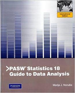 pasw statistics 18.0