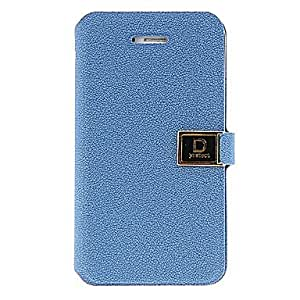 DUR Ailun Series PU Leather Case Cover with Card Slot / Strap for iPhone 4/4s , Black