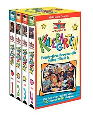Welcome To Kindergarten 4 Volume Pack VHS