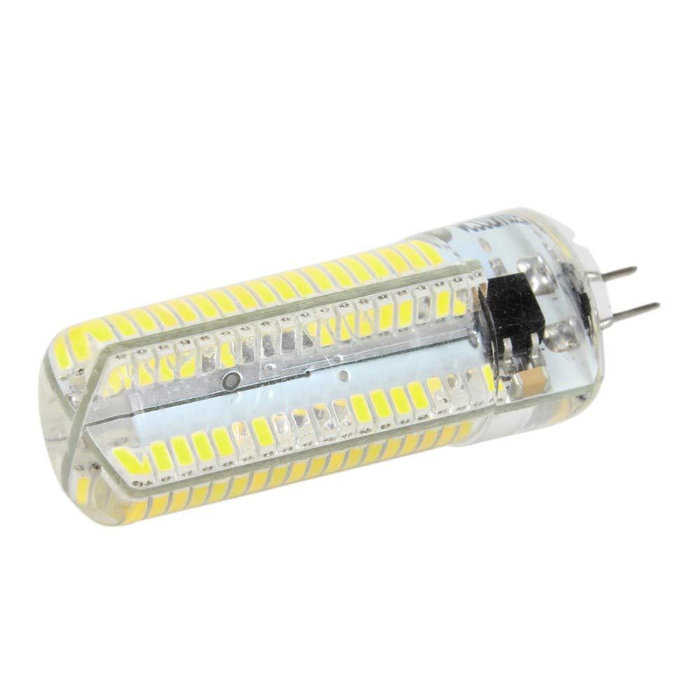 MYY 6W LED Corn Light Bulbs G4 Base 600Lumens Cold White 6000K 360/° Beam Angle Home Decoration Lighting,4Pack
