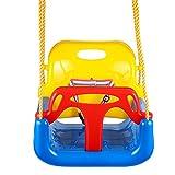 Cheap Jaketen 3-in-1 Toddler Swing Seat Hanging Swing Set for Playground Swing Set,Infants to Teens Swing (Blue)