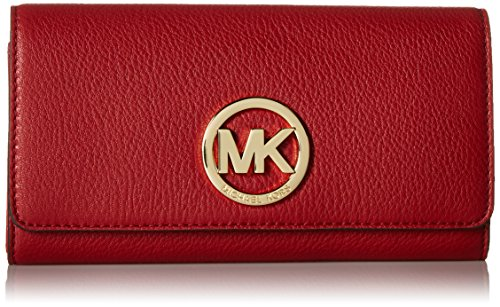 Michael Kors Fulton Carryall Wallet - Burnt Red by MICHAEL Michael Kors