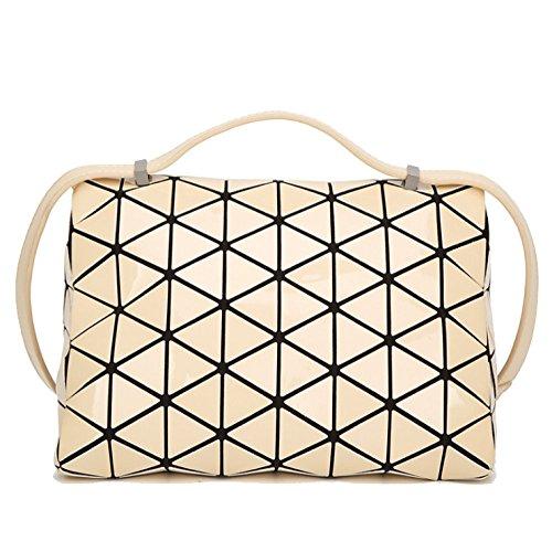 Fashion Messenger Bags Rhombus Pyramids Girls Bags Totes Japanese Ajlbt Purple Geometry Folding Variety Bags Shoulder SXwYE1SA