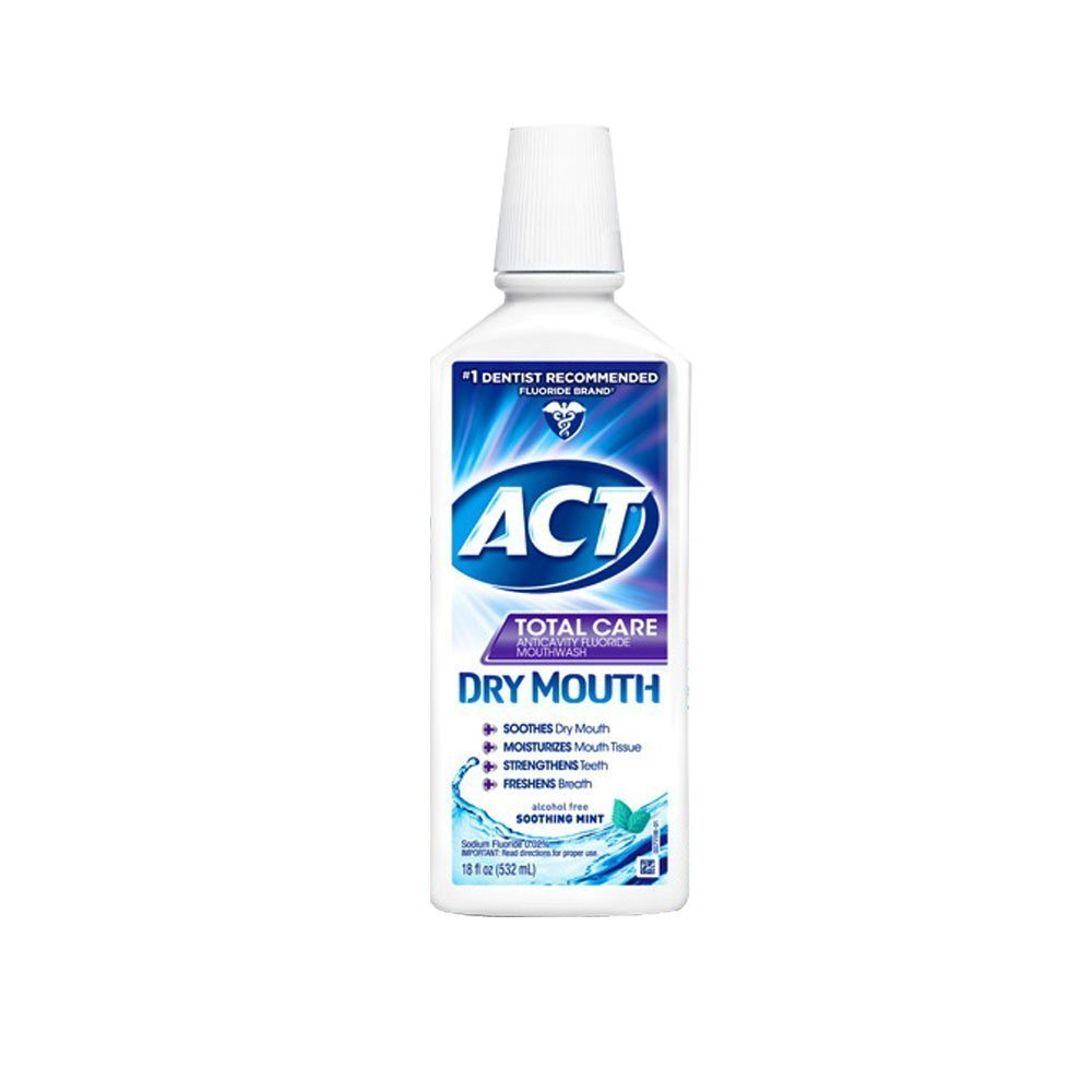 Act Total Care Rinse Dry Mouth, 18 FZ (Pack of 6) CHATTEM INC