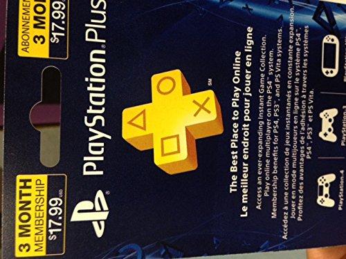 3-Month Playstation Plus Membership - PS3/ PS4/ PS Vita [Mail Code]